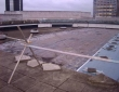 2000 sq metres single ply roof renewal ICC Birmingham
